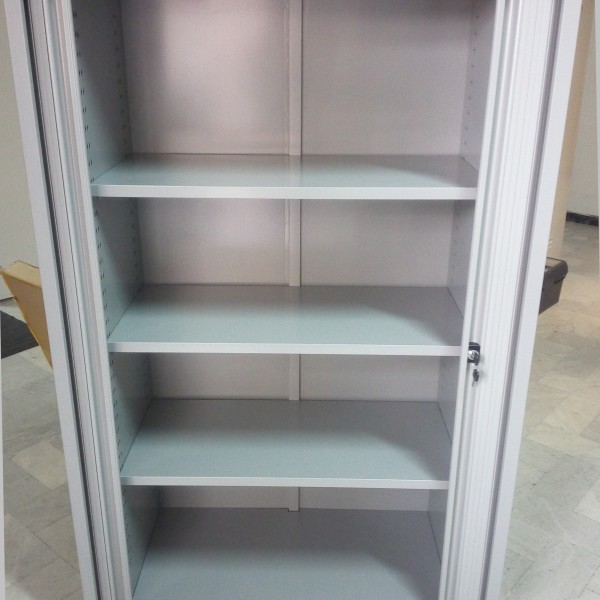 Roller Shutter Door Cabinet W100d45h160 Cm Fleda Trading