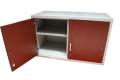 low cabinet with 1 door open