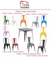 tavolo 80x80 + 4 sedie